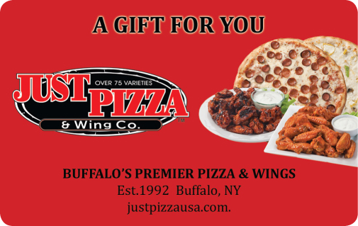 Just Pizza Gift Card