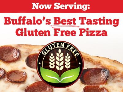 Now Serving: Buffalo's Best Tasting Gluten Free Pizza