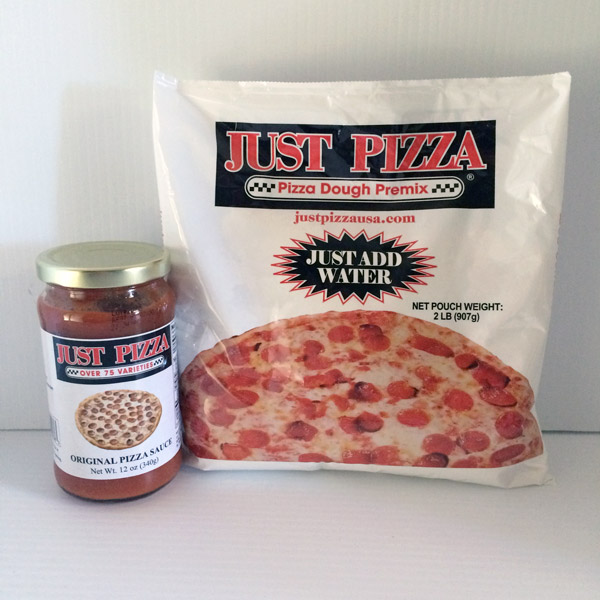 JustPizza retail products