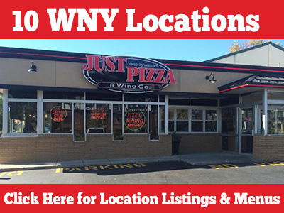 10 WNY Locations - Click here for location listings & menus